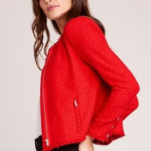 BB Dakota Berry Red Blazer